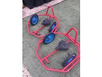 Go karts hand pedal