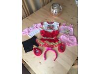 Build a bear clothes - 3 outfits with free headband and shoes