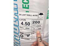 12 x 200mm knauf loft insulation