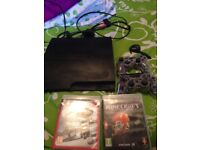 PS3 2 controllers 2 games ear piece