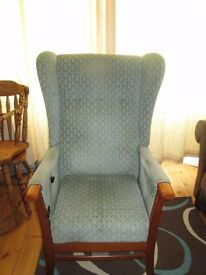 Manual Rising Chair suitable for Elderly or infirm person to aid standing from seating position