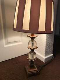 Beautiful Tall Decorative Table Lamp and Shade
