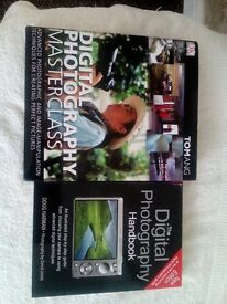 2 DIGITAL PHOTOGRAPHY BOOKS FOR SALE REDUCED