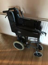 Manual Wheelchair with hand brakes