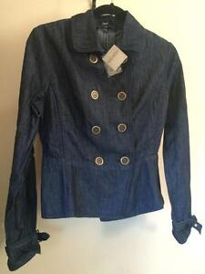 GAP Dark Denim Jean Jacket Size Medium