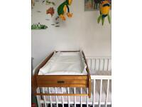 Cot top baby changer by Mamas and Papas