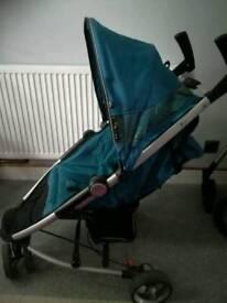 Three wheeler mothercare stroller