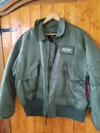 Bommer jacket xxl size.