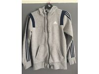 Brand new Grey Adidas Hoodie. Size - Small Men's