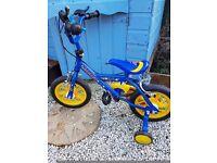 Boys 12inch rocket bike
