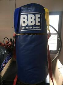 Kids leather BBE punch bag