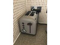 Morphy Richards grey toaster