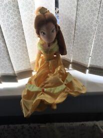 Disney Belle Soft Toy