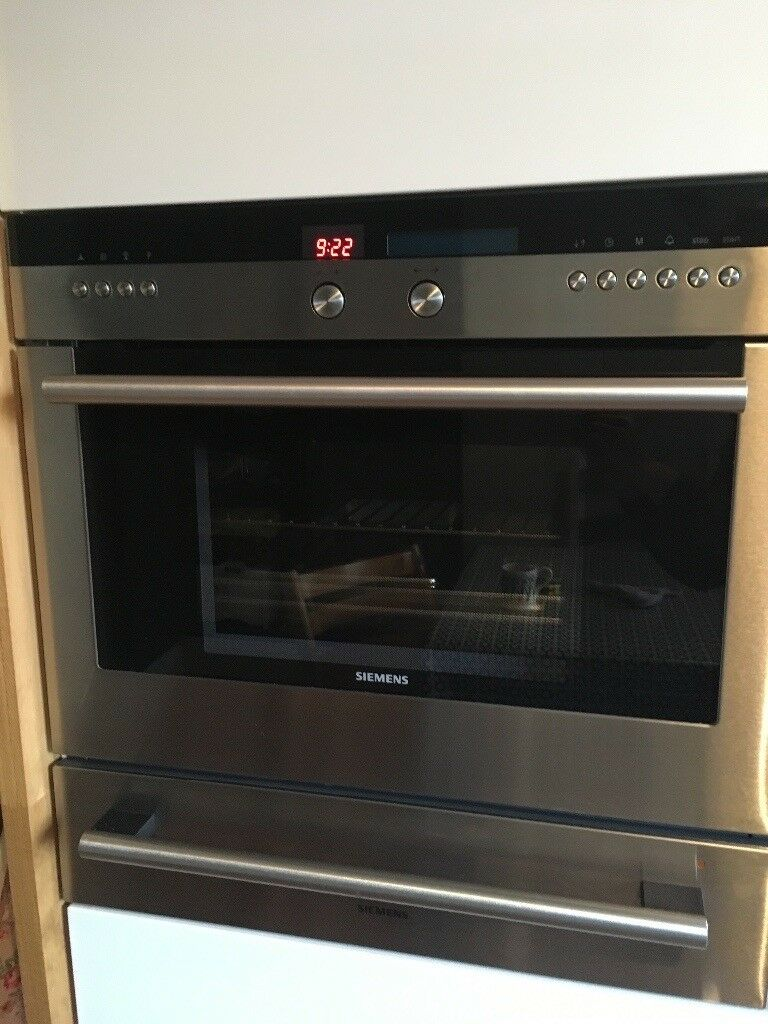 Siemens integrated oven