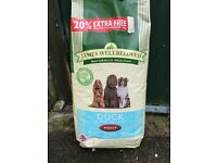 James Wellbeloved Adult Duck and Rice Dog Food 18kg
