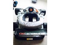 Racing car baby walker £40 ONO