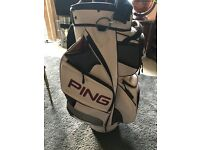 Ping cart golf bag excellent condition.