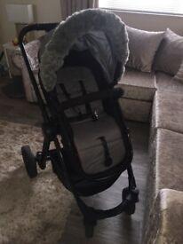 Grey buggy/stroller
