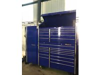 Large SnapOn Tool Box and Cabinet