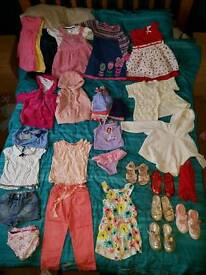 Girls clothes mainly 18-24mnths