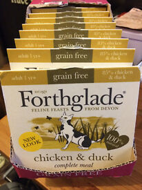 Forthglade Chicken & Duck Natural Wet Cat Food - 10 x 90g