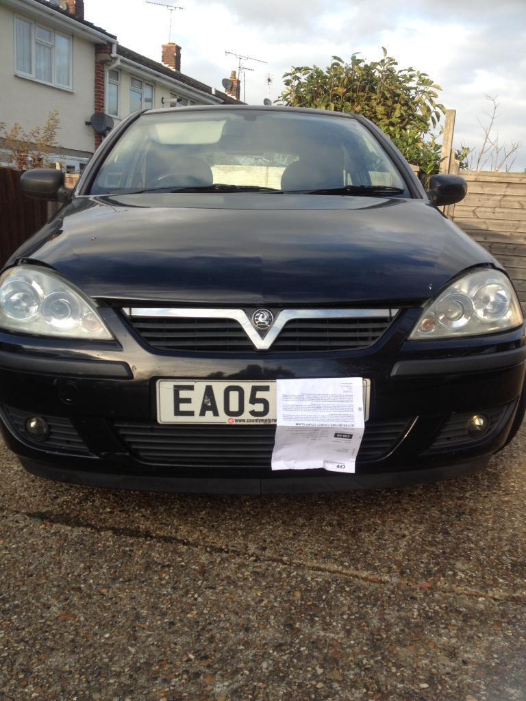 Vauxhall corsa 1.4 6 months mot