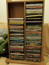 DVD RACK GOOD CONDITION BARGAIN £15