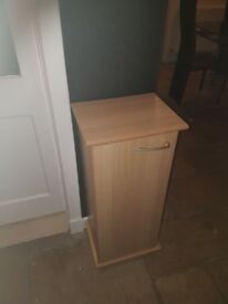Cd cabinet in maple finish