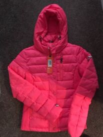 New! New! New !!!!!with tags !!!!!WOMANS!!!!SUPER DRY!!!! winter coat size S paid 84,99 £ Now 44,99£