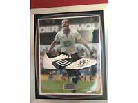 Tottenham roberto soldaldo signed framed boot with coa