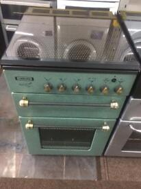 Green leisure 55cm gas cooker grill & oven good condition with guarantee bargain