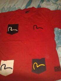 Evisu & Armani tops / t shirts