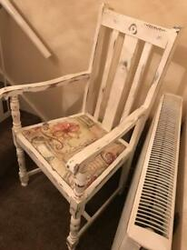 Refurbished old chair