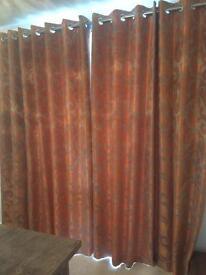 Eyelet Curtains 195x220 cm