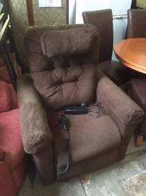 Riser/ recliner chair.