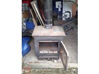 Large old wood burner