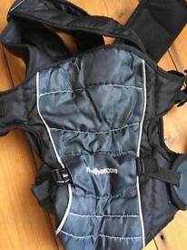 Mothercare 3 position baby carrier black