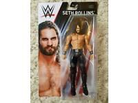 SETH ROLLINS WWE WRESTLING FIGURE BRAND NEW IN BOX