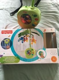 Fisher price rainforest musical mobile