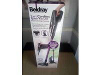 BELDRAY BEL0658 2 IN 1 CORDLESS VACUUM CLEANER 22.2V