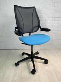 Humanscale Liberty Sky Blue Office Chair