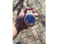 Men's Rolex submariner gold not hublot Cartier Audemars Piguet Patek Philippe watch