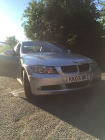 BMW 3 series, 1 years mot, silver, good condition and lovely runner.