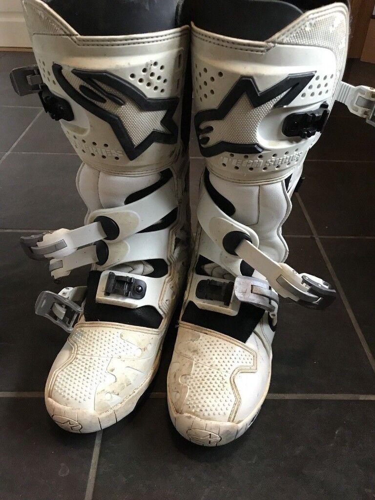 Alpinestar Tech 7 Size 10 boots motocross enduro alpinestars
