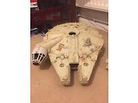 Antique Star Wars millennium falcon
