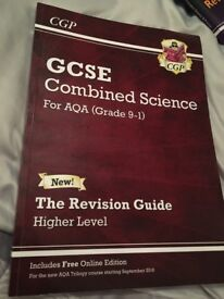 NEW AQA COMBINED SCIENCE GCSE REVISION GUIDE (9-1)
