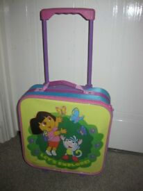DORA WHEELED TRAVEL BAG with extending handle - BEAUTIFUL - NOW REDUCED Rumney, Cardiff