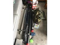 Sea fishing kit & extras