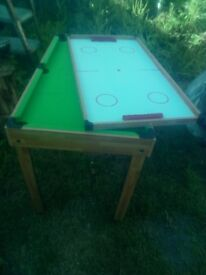 Snooker, table tennis table