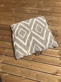 Large 70cm Square Floor Cushion for Garden or Indoors